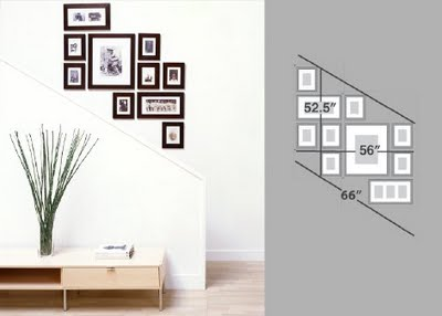 Delightful Each Set, When Hung, Is 3 X 5. The Photo At The Top Of The Post Has Four  Sets. Each Set Includes Ten Frames.