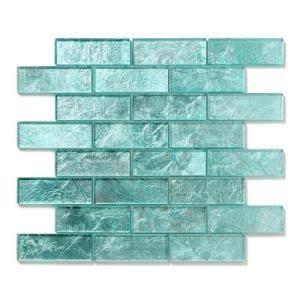 backsplash i really want a glass backsplash with turquoise in