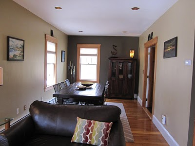 My Second Question Is About The Picture It Dining Room Which Open To Living In First Notice Same Black Leather