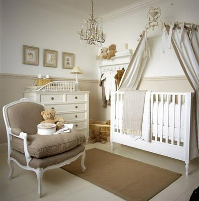 Delighful Chair Rail Nursery Is A Charming Room But Another Bad Example As Far Throughout Decorating Ideas