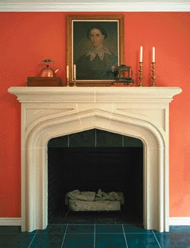 Christine fife interiors design with christine english for Tudor style fireplace