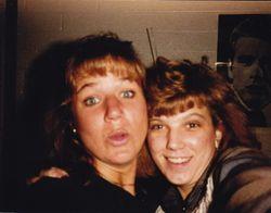 Em and Chrisy - NAU 1986-ish