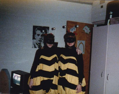 Em and Chrisy - Bumblebees