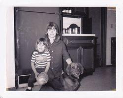 Mom, Hazel and me. 1970