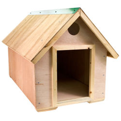 Do It Yourself Pitched Roof Unfinished Dog House By Ware Manufacturing  Could Be A Fun Family Project. The End Result Is A Home Just For Your  Favorite Furry ...
