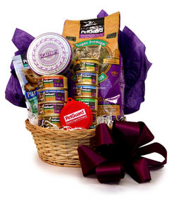 Pet Gift Basket Stuffed For Your Cat A Great Present For Any Kitty