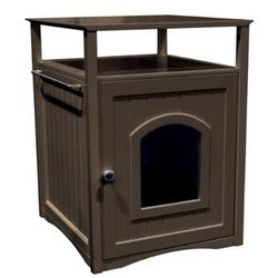Modern and style cat litter box house modern cat furniture featured pet products - Modern cat litter box furniture ...