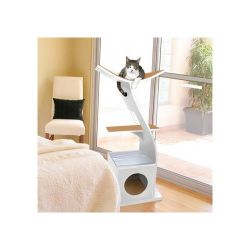 modern cat tree the lotus cat tree by refined feline 41zcr7tibol_ss500_ this modern style cat furniture cat modern furniture