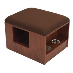 Modern cat furniture ultra luxury litter box housing featured pet products - Modern kitty litter box ...