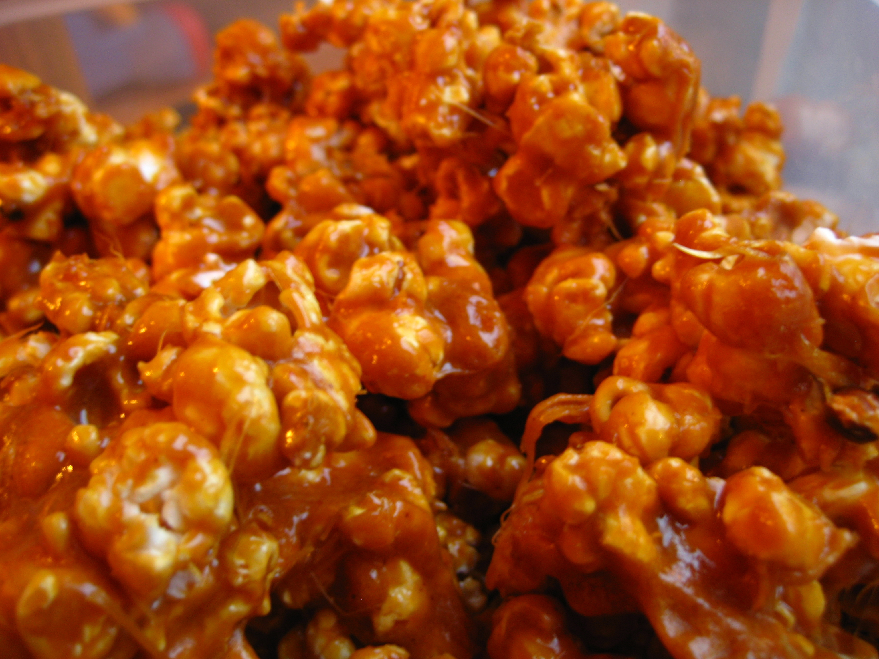... style spicy caramel chicken wings bbq popcorn popcorn trail mix
