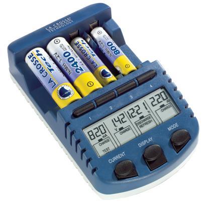 La Crosse BC-900 4-Bay AA & AAA charger.