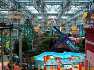 Nickelodeon Universe at Mall of America.