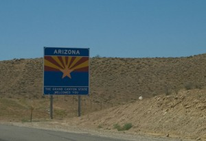 "I was expecting ""Welcome to Nevada."" Who knew?"