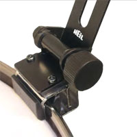 The HH1 can mount to a drum edge or a mounting ring.