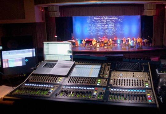 DIGiCo SD8 at FOH