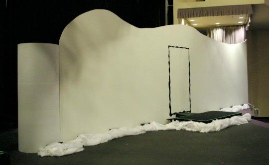 The Long Wall Finished