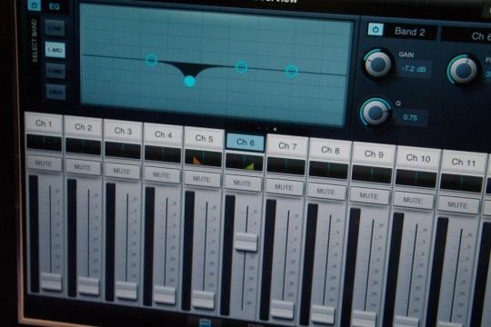 Presonus Studio Live iPad App