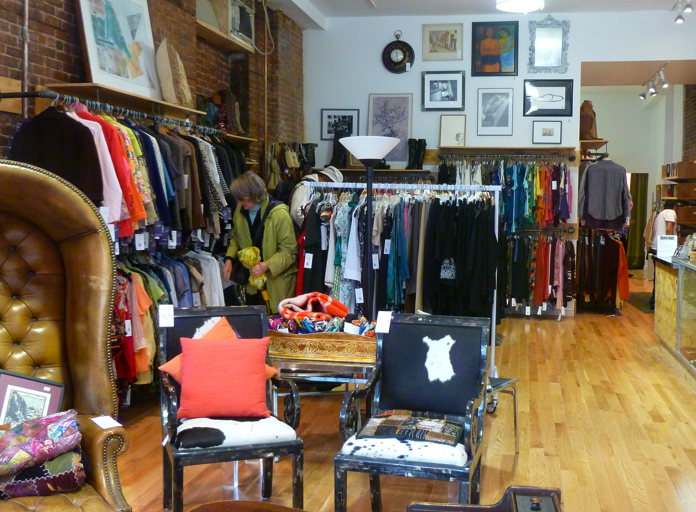The Shop, On The Corner Of Fifth And Garfield, Already Has A Nice Selection  Of Clothes And Vintage Antiques, Most Likely Acquired During Their Drive A  ...