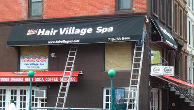 Quot Mini Hair Village Spa Quot Gets Signage On Ninth Home