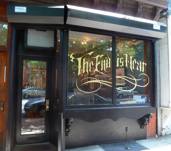 Tattoo Shop Interior Design Ideas