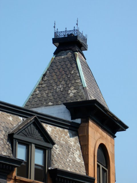 Architectural embellishment of the week roof cresting