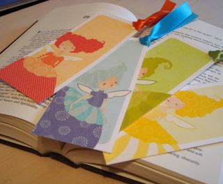 Bookmark fairy set