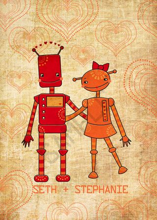 Robot Couple copy