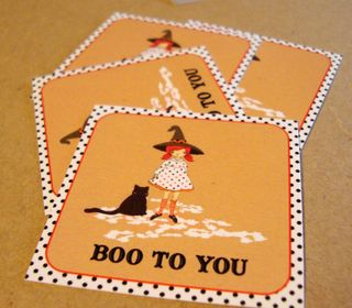 Boo to you stickers