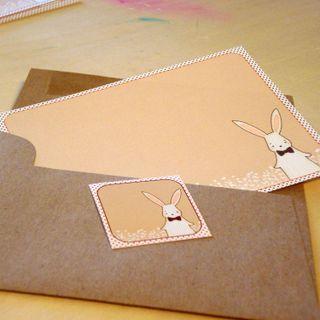 Pinstripe Bunny 3