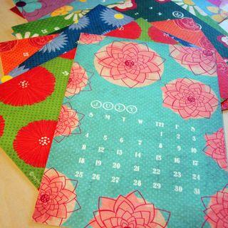 Floral calendar 3