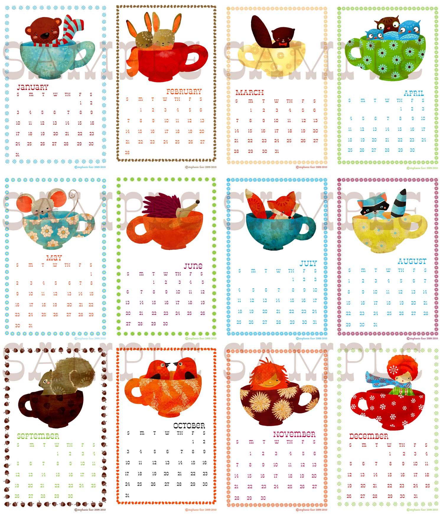 Calendar Samples copy