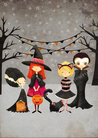 Halloween Kids 5x7 copy