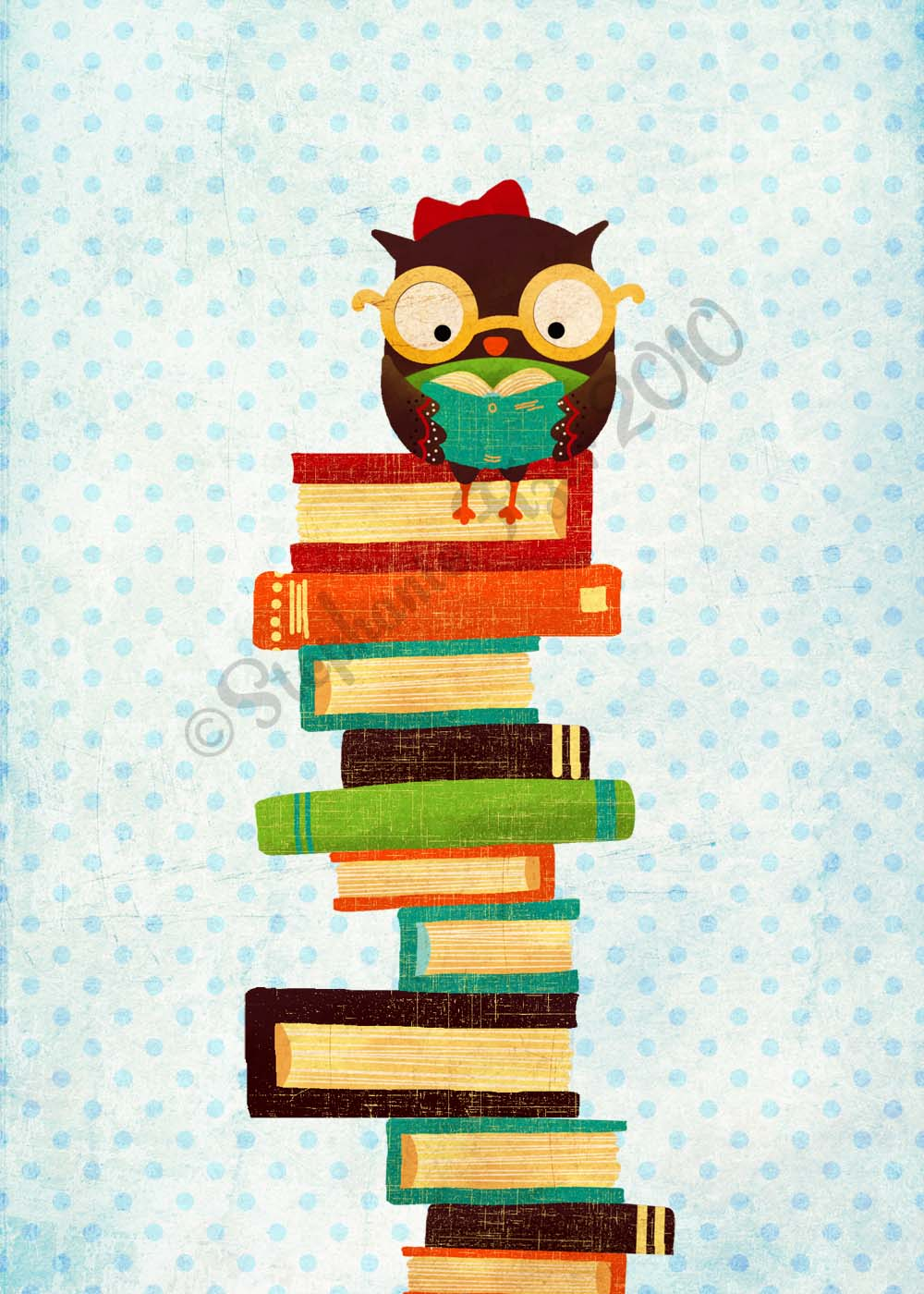 Bookish Owl Too