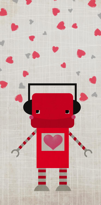Valentine Robot 2