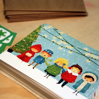 A Little Holiday Cheer Winter Card Set