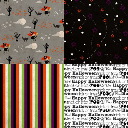 Halloween paper samples