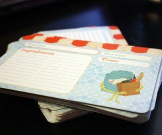 Recipe cards 2