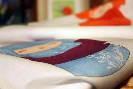 Kokeshi fabric