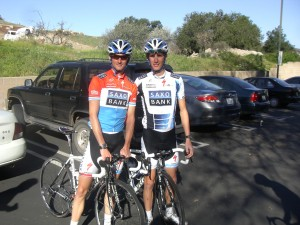 Frank and Andy Schleck