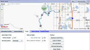 Route Builder has many tools and features