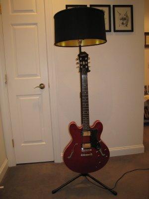 Guitar stand lamp ms simplicity blog melissa schmalenberger guitar stand lamp aloadofball Gallery