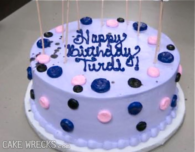 Happy Birthday Trudie Cake