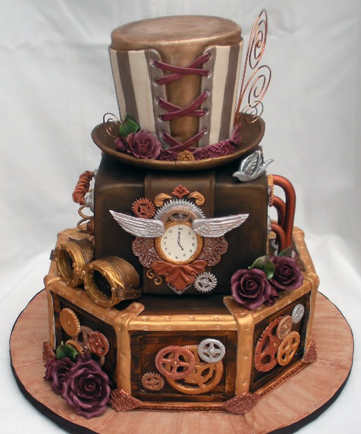 Cake Wrecks Home Sunday Sweets Geek Wedding Cakes