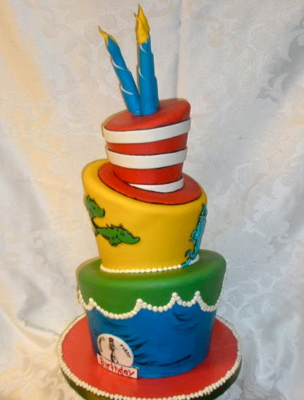 How To Make A Doctor Seuss Cake