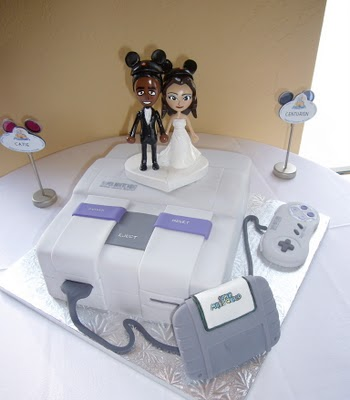 Cake Wrecks Home Sunday Sweets When Gamers Marry