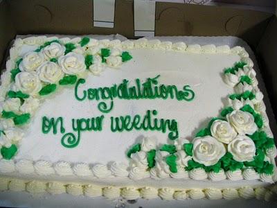 Cake Wrecks - Home - Speaking of Weeding...