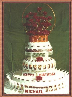 Because Every 16 Year Old Boy Dreams Of Having A Giant Wicker Basket Roses On His Birthday Cake