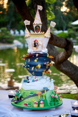 Cake Wrecks Home Sunday Sweets Super Mario Wedding Cake