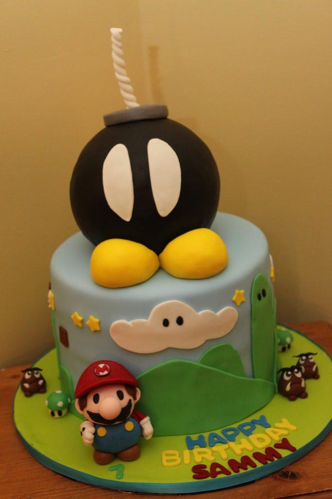 Mario Bros Cake Pops