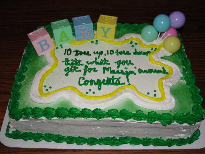 cake wrecks  home  jane austen's baby shower chronicles, Baby shower invitation
